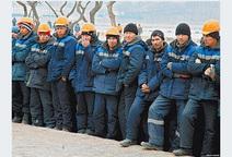 Мигранты на подмосковных стройках